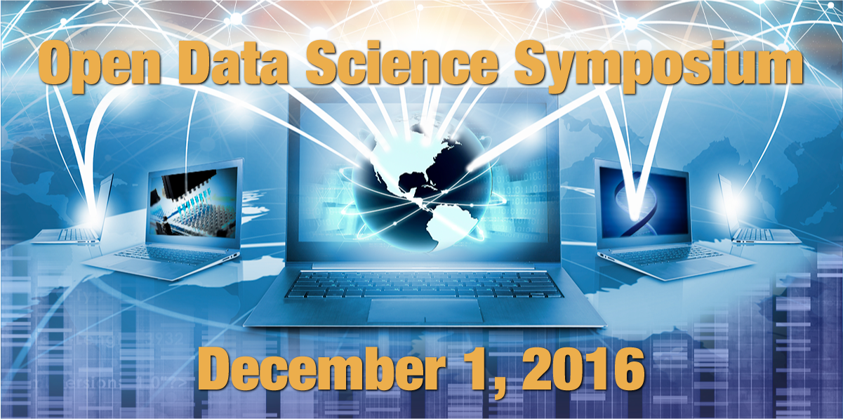 Open Data Science Symposium; December 1, 2016