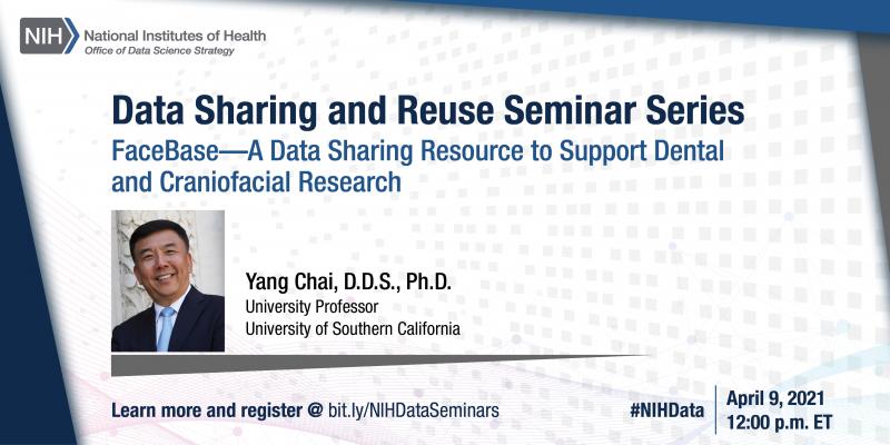 April data sharing and reuse seminar series