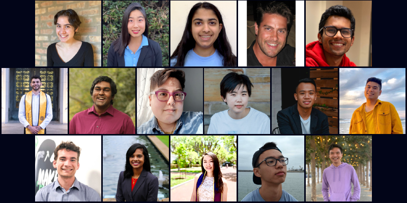 16 student fellows for 2021