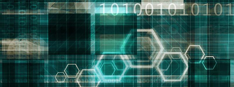 Image with binary code