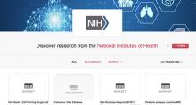 NIH Figshare screenshot