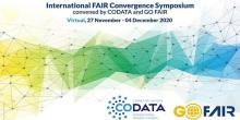 Symposium to advance international and cross-domain convergence around FAIR.