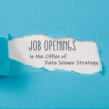 Job Openings in the Office of Data Science Strategy