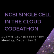 Project Proposals for Single Cell in the Cloud Codeathon Due Dec. 2